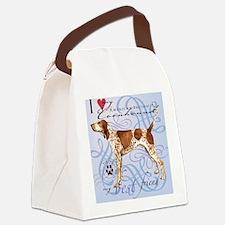 AmerEng-tile Canvas Lunch Bag