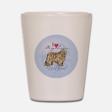 bergamasco-round Shot Glass