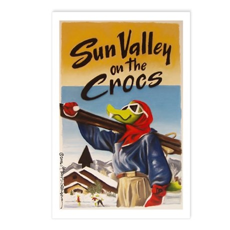 Sun Valley on the Crocs Postcards (Package of 8)