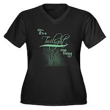 Twilight Plus Size T-Shirt