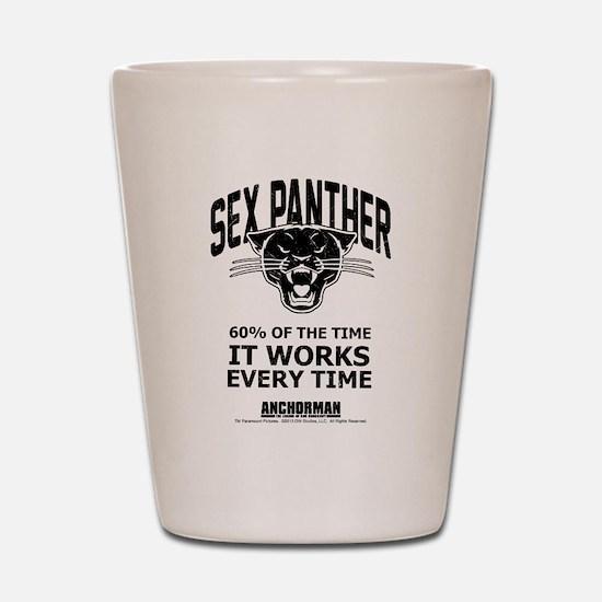 Sex Panther Shot Glass