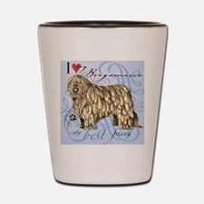 bergamasco-tile Shot Glass
