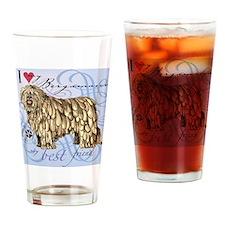 bergamasco-tile Drinking Glass