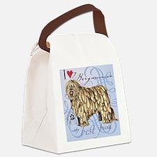 bergamasco-tile Canvas Lunch Bag