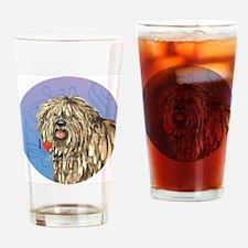 bergamasco-button Drinking Glass