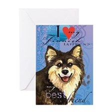 Finlap-journal Greeting Card