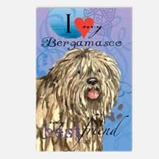 bergamasco-card Postcards (Package of 8)