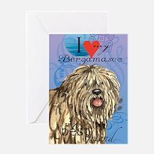 bergamasco-journal Greeting Card