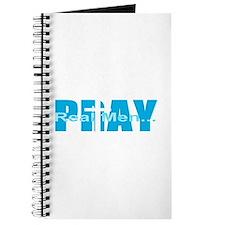 Real Men Pray - Lt Blue Journal