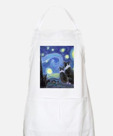 Starry Night for tile coaster Apron