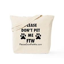 PDPM FTW (black text) Tote Bag