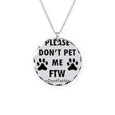 PDPM FTW (black text) Necklace
