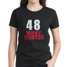 48 most wanted Tee