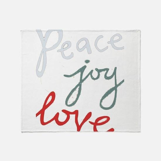 peacejoylove1 Throw Blanket