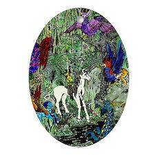 Mythmeet in colour! Ornament (Oval)