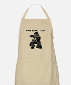 Custom Soldier With Gun Apron