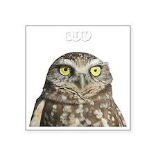 "fun-birding-tours-dark-2 Square Sticker 3"" x 3"""