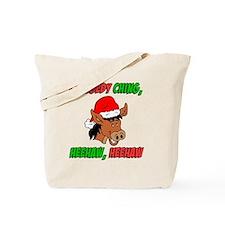 Italian Donkey Apron Tote Bag