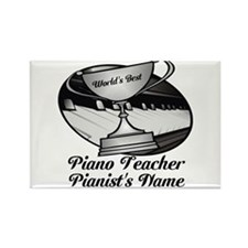 Personalized Piano Teacher Magnets
