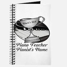 Personalized Piano Teacher Journal