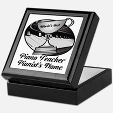 Personalized Piano Teacher Keepsake Box