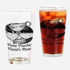 Personalized Piano Teacher Drinking Glass