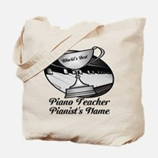 Personalized Piano Teacher Tote Bag
