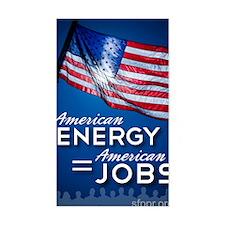American Energy = American Job Decal