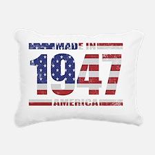 America1947 Rectangular Canvas Pillow