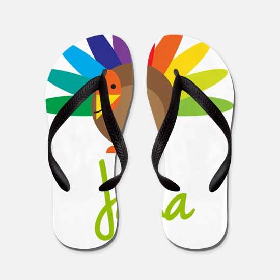 Jana-the-turkey Flip Flops