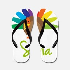 Silvia-the-turkey Flip Flops