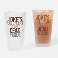 Funny Existential Drinking Glass
