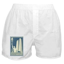 Vimy Ridge Memorial WWI War Poster Boxer Shorts