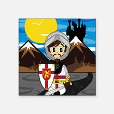 "Knight Pad2 Square Sticker 3"" x 3"""