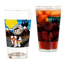 Knight Pad2 Drinking Glass