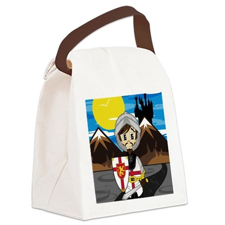 Knight Pad2 Canvas Lunch Bag