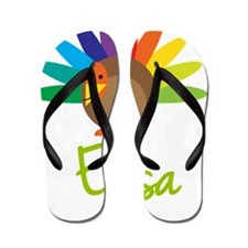 Elisa-the-turkey Flip Flops