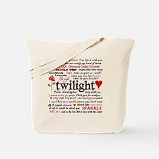 TwiTerms Blanket Tote Bag