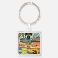 Paul Gauguin Square Keychain