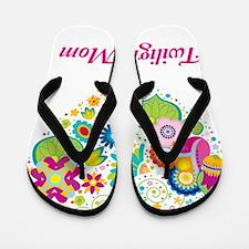 TwiLove Mom Blanket Flip Flops