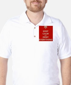 keep-calm-and-deny-eerything T-Shirt