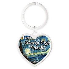 Tess Heart Keychain
