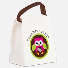 TeachingsAHoot Canvas Lunch Bag