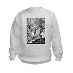 Mythmeet Unicorn, Dragon and more! Kids Sweatshirt