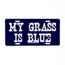 Cute Bluegrass music Aluminum License Plate