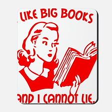 bigbooks copy Mousepad