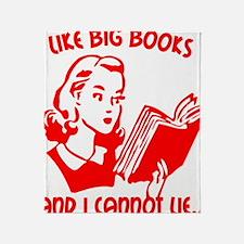 bigbooks copy Throw Blanket