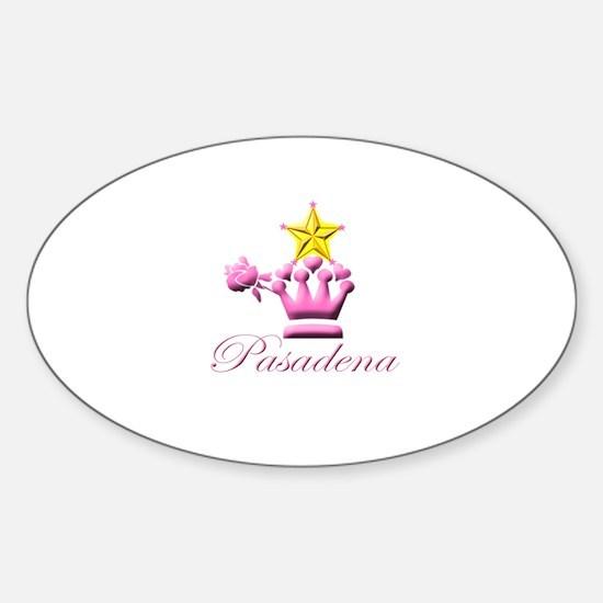 Pasadena Pink Stars Decal