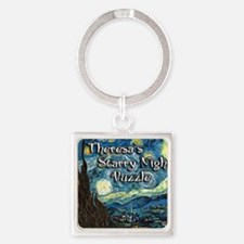 Theresas Square Keychain