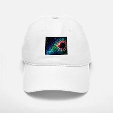Space scenery globe planets nebula dusts stars Baseball Baseball Cap
